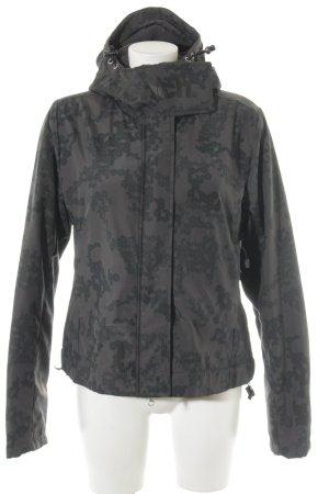 Bench Veste à capuche gris-gris foncé motif graphique style décontracté