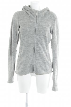 Bench Chaqueta con capucha gris-gris claro moteado mullido