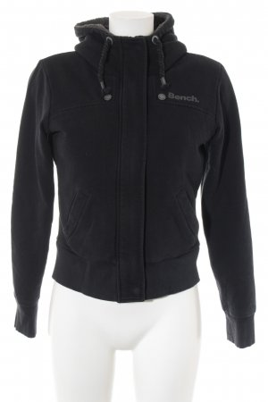 Bench Kapuzenjacke schwarz Casual-Look