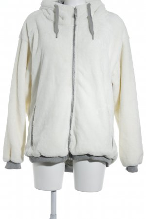 Bench Kapuzenjacke weiß-grau sportlicher Stil