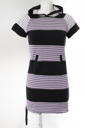 Bench Hooded Dress striped pattern street-fashion look