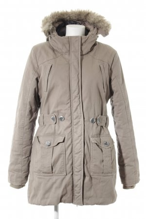 Bench Hooded Coat beige athletic style