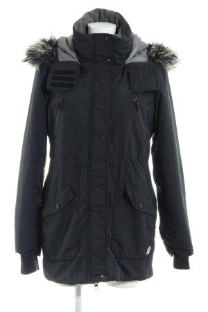 Bench Manteau à capuche noir style décontracté