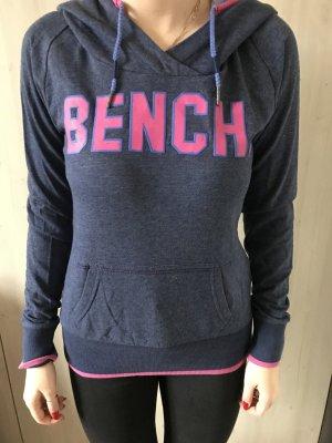 Bench Capuchon sweater roze-staalblauw