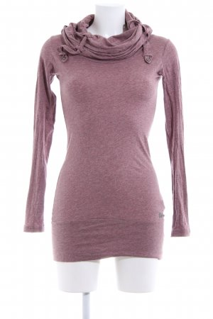 Bench Kapuzenshirt pink meliert Casual-Look