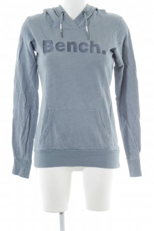Bench Felpa con cappuccio blu pallido puntinato stile casual