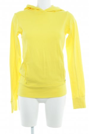 Bench Hooded Sweatshirt yellow casual look