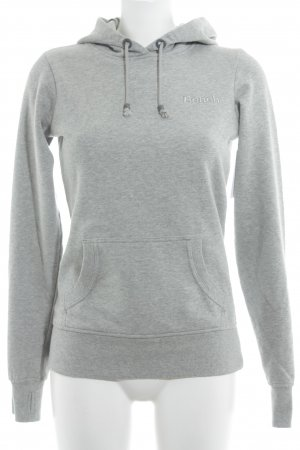 Bench Kapuzensweatshirt hellgrau Casual-Look