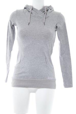 Bench Sweat à capuche gris clair-or rose style décontracté