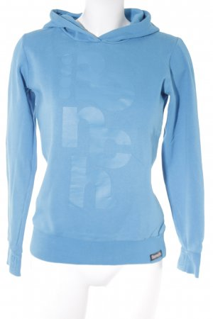 Bench Kapuzensweatshirt neonblau Casual-Look