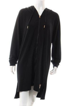 Bench Kapuzensweatshirt schwarz Casual-Look