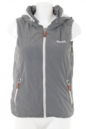 Bench Hooded Vest light grey athletic style
