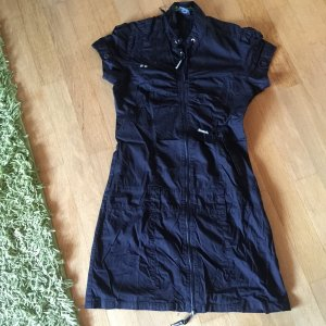 Bench Kleid FullZip in Schwarz
