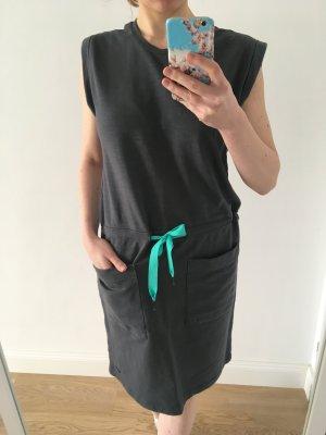 Bench Kleid, Sweatkleid, Grau-Blau, Gr. S/36, wie neu!