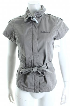 Bench Kurzarm-Bluse grau Casual-Look
