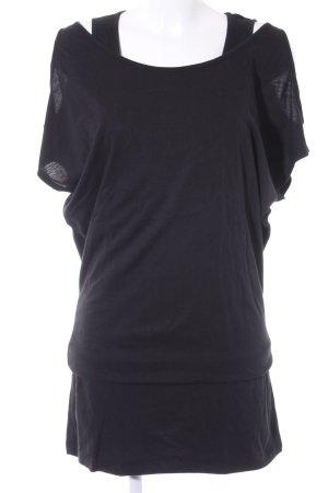 Bench Kurzarmkleid schwarz schlichter Stil