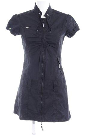 Bench Kurzarmkleid schwarz sportlicher Stil