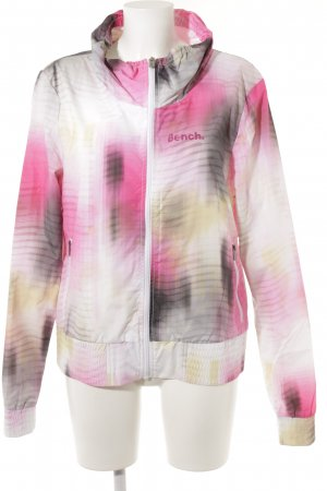 Bench Short Jacket abstract pattern extravagant style