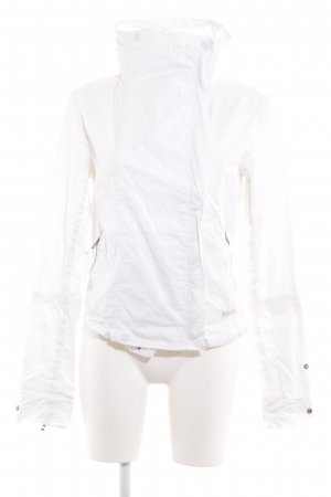 Bench Short Jacket white-silver-colored casual look