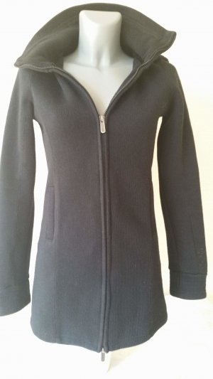 Bench Veste longue noir tissu mixte