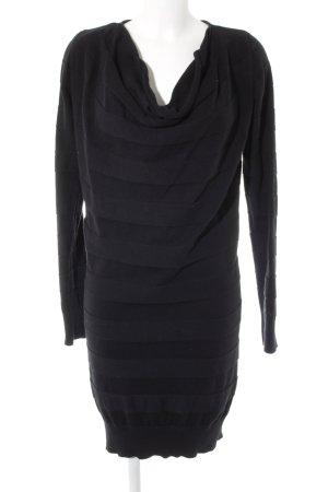 Bench Langarmkleid schwarz schlichter Stil