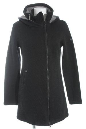 Bench Lange Jacke schwarz schlichter Stil