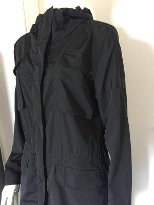 BENCH leichter Parka / Trenchcoat schwarz Gr. S ( M ) - NEU