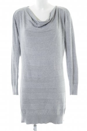 Bench Long Sweater light grey-grey flecked casual look