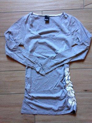 Bench Longshirt Langarmshirt Größe M hellgrau