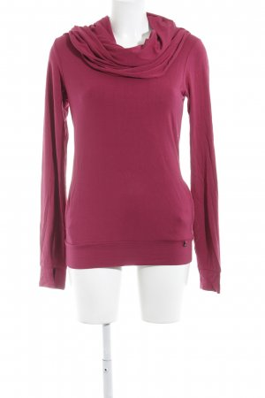 Bench Longsleeve magenta Casual-Look
