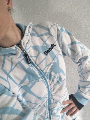 Bench Mantel Jacke weiss blau