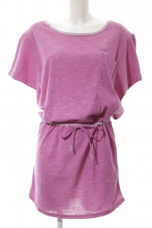 Bench Minikleid pink Allover-Druck Casual-Look