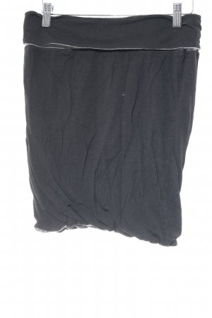 Bench Mini-jupe noir-gris clair style décontracté