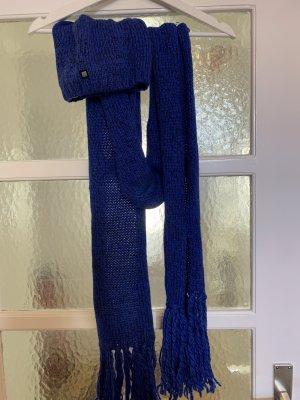Bench Mütze+ Schal in blau