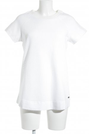 Bench Mesh Shirt white transparent look