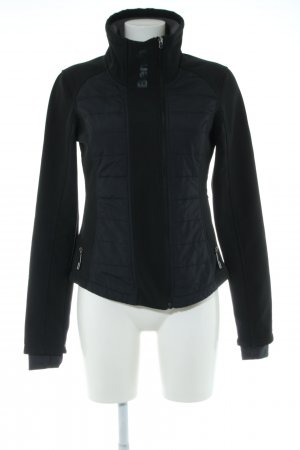 Bench Outdoor Jacket black quilting pattern casual look