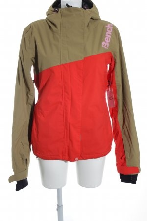 Bench Outdoorjacke beige-rot Casual-Look