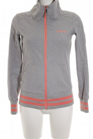 Bench Outdoorjacke hellgrau-apricot Casual-Look