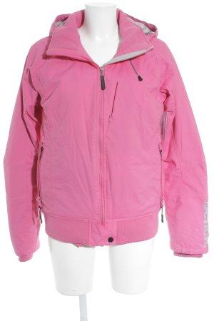 Bench Outdoorjacke pink sportlicher Stil