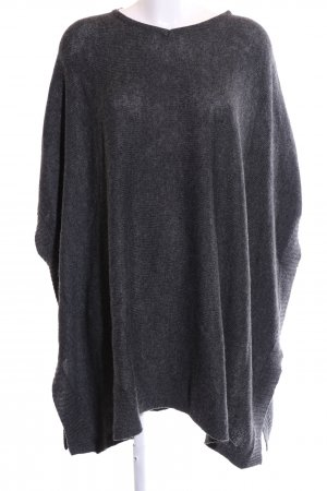 Bench Poncho light grey flecked casual look