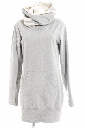 Bench Sweater Dress natural white-light grey athletic style