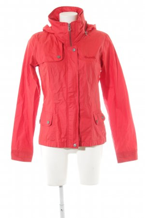 Bench Raincoat red-silver-colored casual look