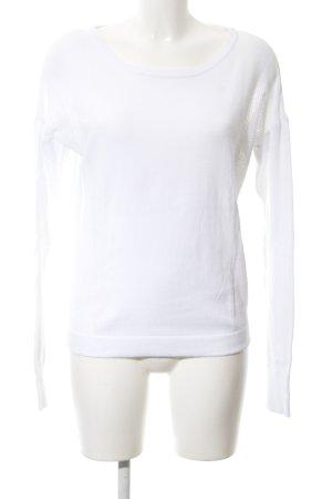 Bench Maglione girocollo bianco stile casual