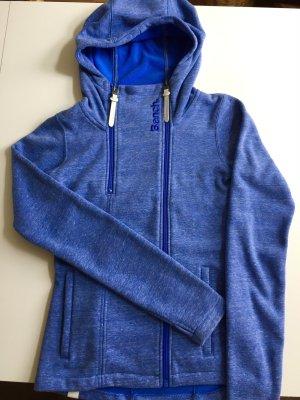 Bench Veste chemise bleuet-bleu acier coton