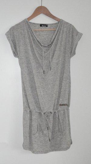 BENCH Shirt Kleid mit Wasserfallausschnit, Sz S wie 36, fast neu