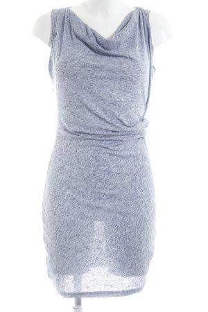 Bench Shirtkleid weiß-blau meliert sportlicher Stil