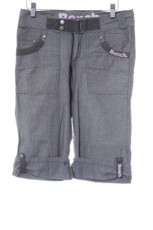 Bench Shorts grau-graulila Casual-Look