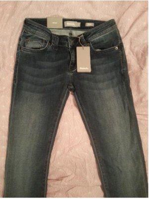 Bench Skinny jeans leigrijs Gemengd weefsel
