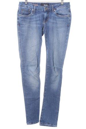 Bench Skinny Jeans dunkelblau Casual-Look