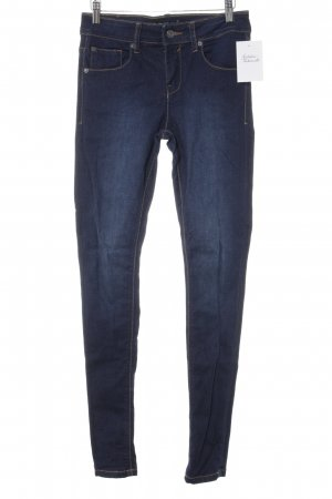 Bench Skinny Jeans dunkelblau Casual-Look